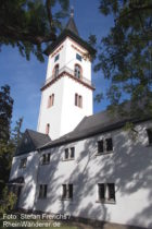 Odenwald: Dreifaltigkeitskirche in Darmstadt-Eberstadt - Foto: Stefan Frerichs / RheinWanderer.de