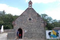 Odenwald: Kapelle von Burg Frankenstein - Foto: Stefan Frerichs / RheinWanderer.de
