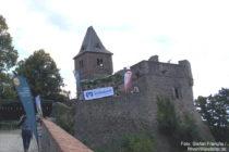 Odenwald: Kernburg von Burg Frankenstein - Foto: Stefan Frerichs / RheinWanderer.de