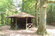 Odenwald: Ernst-Ludwigs-Hütte am Zehn-Wege-Platz - Foto: Stefan Frerichs / RheinWanderer.de