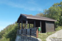 Odenwald: Luciberghütte bei Zwingenberg - Foto: Stefan Frerichs / RheinWanderer.de