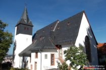 Odenwald: Bergkirche von Zwingenberg - Foto: Stefan Frerichs / RheinWanderer.de
