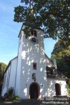 Odenwald: Bergkirche von Jugenheim - Foto: Stefan Frerichs / RheinWanderer.de