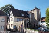 Odenwald: Schlösschen in Zwingenberg - Foto: Stefan Frerichs / RheinWanderer.de