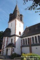 Odenwald: Sankt-Bonifatius-Kirche in Jugenheim - Foto: Stefan Frerichs / RheinWanderer.de