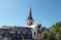 Mosel: Sankt-Martin-Kirche in Ediger - Foto: Stefan Frerichs / RheinWanderer.de