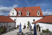 Obere Donau: Innenhof von Burg Wildenstein - Foto: Stefan Frerichs / RheinWanderer.de