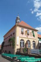 Pfälzerwald: Altes Rathaus in Hambach - Foto: Stefan Frerichs / RheinWanderer.de