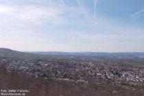 Inselrhein: Blick von der Richardshöhe auf Gau-Algesheim - Foto: Stefan Frerichs / RheinWanderer.de