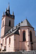 Inselrhein: Sankt-Antonius-Kirche von Rauenthal - Foto: Stefan Frerichs / RheinWanderer.de