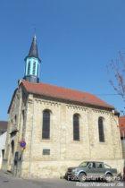 Inselrhein: Sankt-Remigius-Kirche in Bubenheim - Foto: Stefan Frerichs / RheinWanderer.de