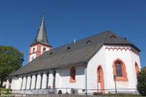 Mittelrhein: Sankt-Johannes-Kirche in Damscheid - Foto: Stefan Frerichs / RheinWanderer.de