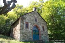 Mittelrhein: Kalvarienbergkapelle bei Oberwesel - Foto: Stefan Frerichs / RheinWanderer.de