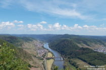 Mosel: Vier-Seen-Blick auf Ediger-Eller - Foto: Stefan Frerichs / RheinWanderer.de