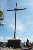 Mosel: Calmont-Gipfelkreuz - Foto: Stefan Frerichs / RheinWanderer.de