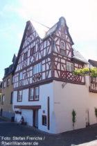 Mosel: Storchenhaus in Bremm - Foto: Stefan Frerichs / RheinWanderer.de
