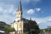 Ahr: Sankt-Laurentius-Kirche am Marktplatz in Ahrweiler - Foto: Stefan Frerichs / RheinWanderer.de