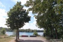 Niederrhein: Stöckenbergsee bei Leverkusen-Rheindorf - Foto: Stefan Frerichs / RheinWanderer.de