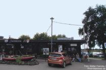 Niederrhein: Gaststätte vom Campingplatz Rheinblick - Foto: Stefan Frerichs / RheinWanderer.de