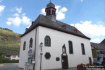Ahr: Sankt-Joseph-Kapelle in Walporzheim - Foto: Stefan Frerichs / RheinWanderer.de