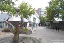 Niederrhein: Fußgängerzone in Düsseldorf-Garath - Foto: Stefan Frerichs / RheinWanderer.de