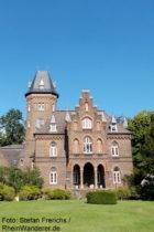 Niederrhein: Villa Marienburg in Monheim - Foto: Stefan Frerichs / RheinWanderer.de