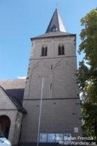 Niederrhein: Sankt-Gereon-Kirche in Monheim - Foto: Stefan Frerichs / RheinWanderer.de