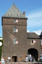 Niederrhein: Schelmenturm in Monheim - Foto: Stefan Frerichs / RheinWanderer.de