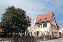 Neckar: Gasthaus Zum Anker in Schwabenheimer Hof - Foto: Stefan Frerichs / RheinWanderer.de
