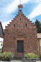 Neckar: Sankt-Katharina-Kapelle in Schwabenheimer Hof - Foto: Stefan Frerichs / RheinWanderer.de