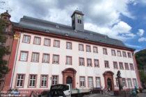 Neckar: Alte Universität in Heidelberg - Foto: Stefan Frerichs / RheinWanderer.de