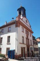 Neckar: Altes Rathaus in Neckargemünd - Foto: Stefan Frerichs / RheinWanderer.de