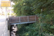 Odenwald: Meerbach-Brücke in Bensheim - Foto: Stefan Frerichs / RheinWanderer.de