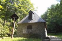 Odenwald: Kapelle Zur Not Gottes bei Schloss Auerbach - Foto: Stefan Frerichs / RheinWanderer.de