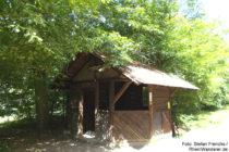 Odenwald: Paul-Forster-Hütte bei Schloss Auerbach - Foto: Stefan Frerichs / RheinWanderer.de