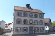 Odenwald: Altes Rathaus von Auerbach - Foto: Stefan Frerichs / RheinWanderer.de