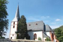 Odenwald: Bergkirche von Auerbach - Foto: Stefan Frerichs / RheinWanderer.de