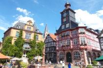 Odenwald: Rathaus am Marktplatz von Heppenheim - Foto: Stefan Frerichs / RheinWanderer.de