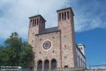 Odenwald: Sankt-Georg-Kirche in Bensheim - Foto: Stefan Frerichs / RheinWanderer.de