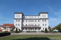 Odenwald: Rothschild-Schloss in Hemsbach - Foto: Stefan Frerichs / RheinWanderer.de