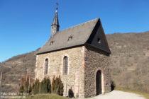 Mittelrhein: Clemenskapelle bei Lorchhausen - Foto: Stefan Frerichs / RheinWanderer.de