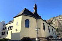 Mosel: Sankt-Castor-Kirche in Lehmen - Foto: Stefan Frerichs / RheinWanderer.de