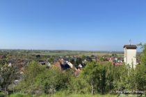 Odenwald: Blick auf Sulzbach an der Bergstraße - Foto: Stefan Frerichs / RheinWanderer.de