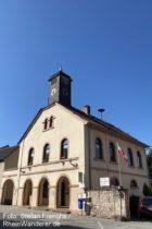 Odenwald: Altes Rathaus in Sulzbach an der Bergstraße - Foto: Stefan Frerichs / RheinWanderer.de