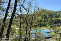 Odenwald: Waldschwimmbad im Gorxheimer Tal - Foto: Stefan Frerichs / RheinWanderer.de