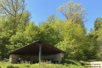 Odenwald: Lange-Bank-Hütte - Foto: Stefan Frerichs / RheinWanderer.de