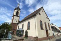 Odenwald: Evangelische Kirche von Lützelsachsen - Foto: Stefan Frerichs / RheinWanderer.de