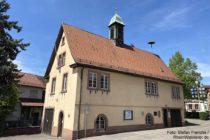 Odenwald: Altes Rathaus von Hohensachsen - Foto: Stefan Frerichs / RheinWanderer.de