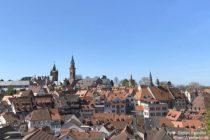 Odenwald: Blick auf die Altstadt von Weinheim - Foto: Stefan Frerichs / RheinWanderer.de