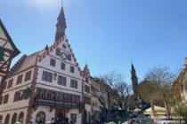 Odenwald: Altes Rathaus am Marktplatz von Weinheim - Foto: Stefan Frerichs / RheinWanderer.de